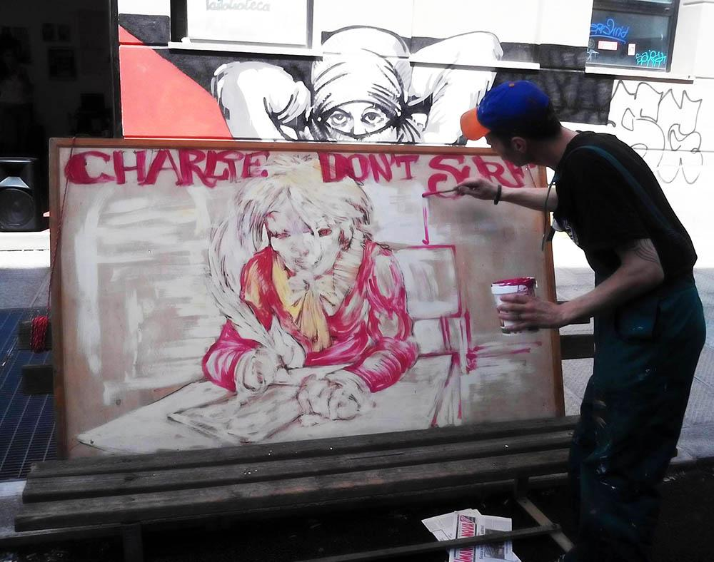 LIVE PAINTING  Firenze